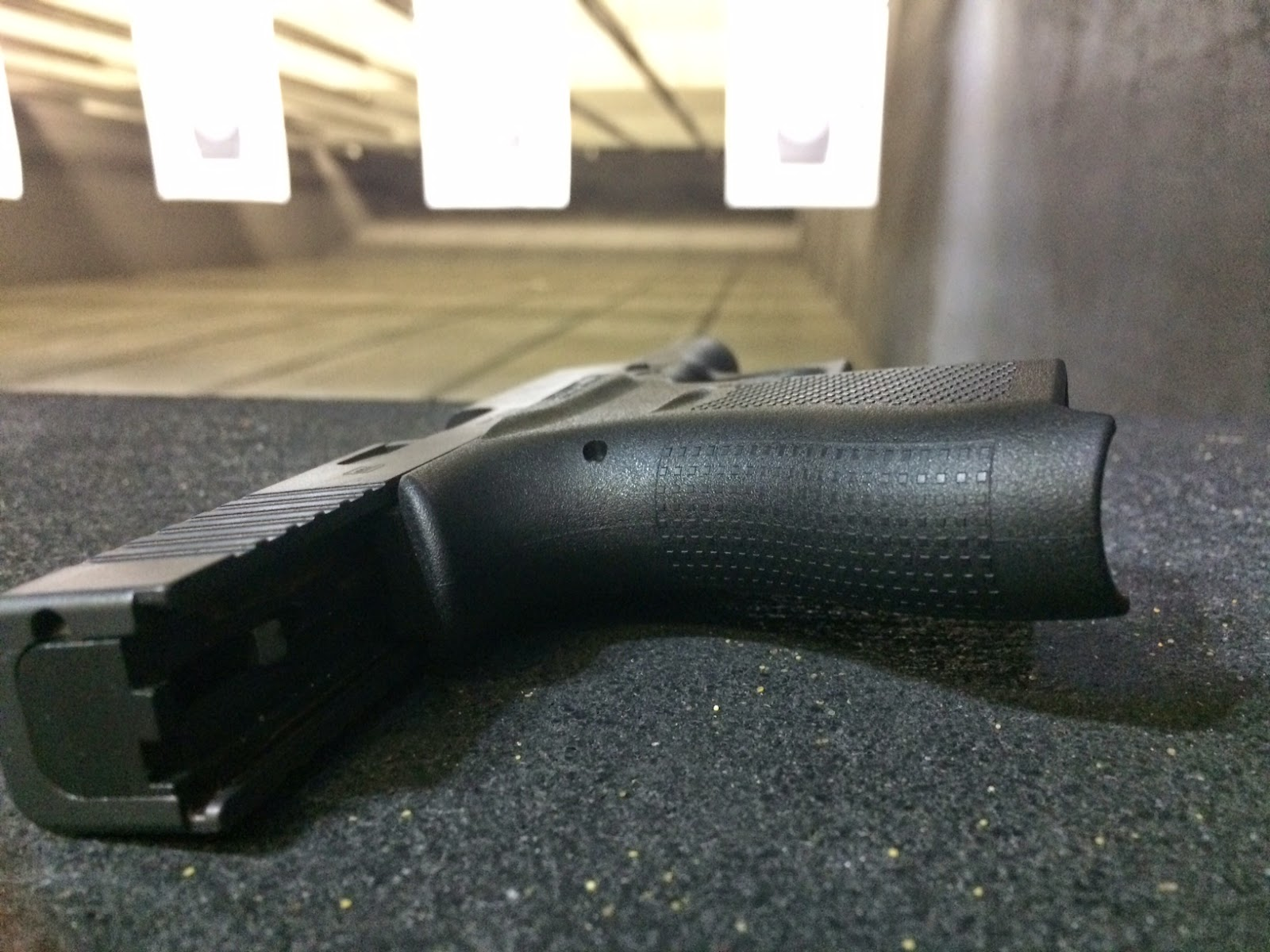 The Glock 43 I fired at the NRA AM