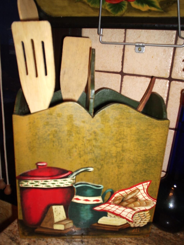 El rincon de las hadas for Porta cucharas cocina