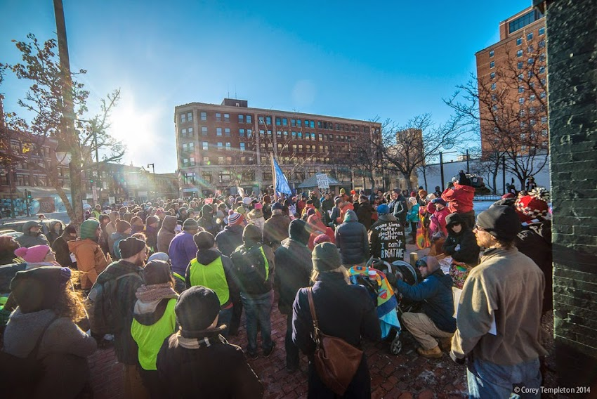 March to End Violence: Solidarity for Racial Justice in Portland, Maine USA December 7, 2014 photo by Corey Templeton