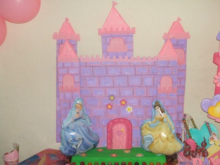 Chupeteras de castillos de princesas - Imagui