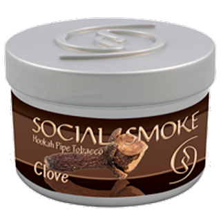 SOCIAL SMOKE CLOVE HOOKAH SHISHA TOBACCO