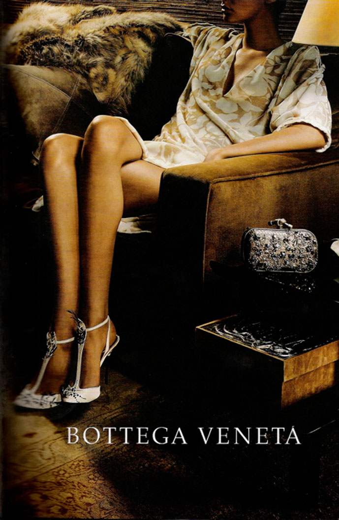 via fashioned by love | Bottega Veneta Fall/Winter 2004 by Robin Broadbent