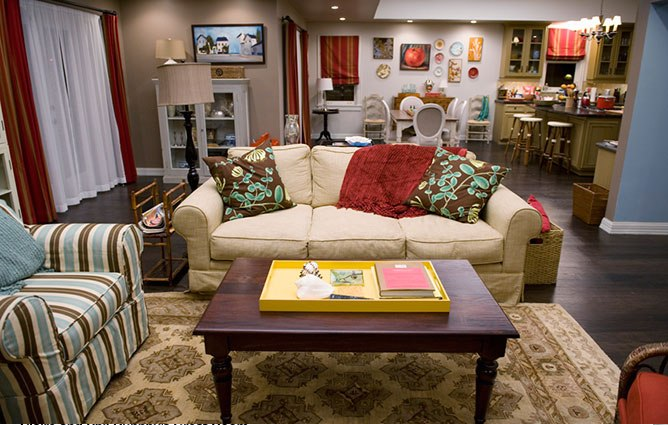 Style inspiration the dunphys living room on quot modern family