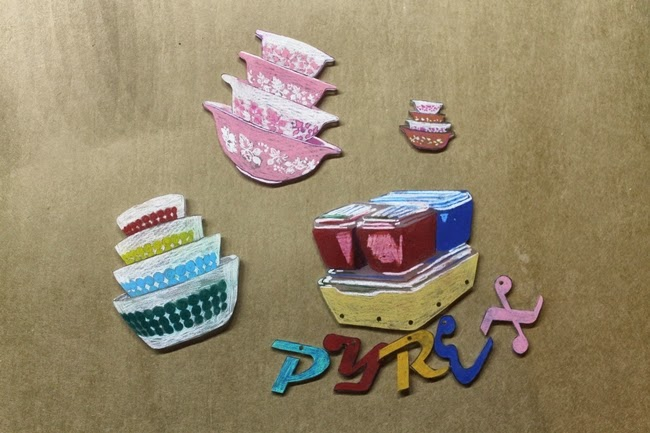 how to make novelty pyrex dish shrinky dink plastic brooches