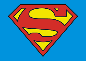 Superman Logo Vector download free