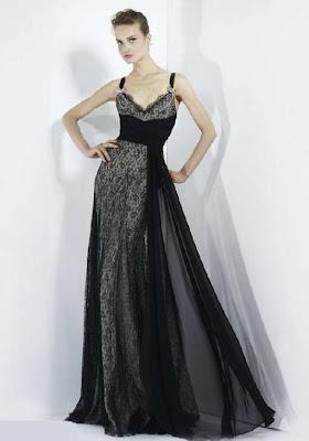 Dantel Gece Elbise Modelleri 10