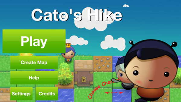 Cato's Hike, aplicación para iPad.