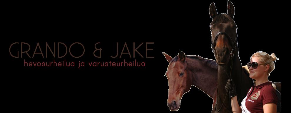 Grando ja Jake - Hevos- ja varusteurheilua