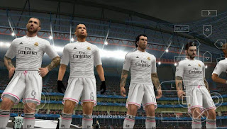 Download Ubdate PES 2016 ISO Galaxy11 V3 By Longday For PPSSPP Android