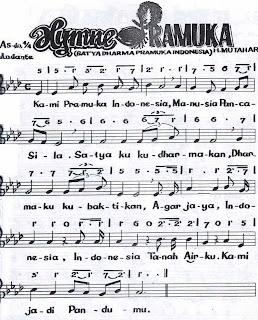 Lirik lagu Satya Darma Pramuka