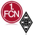 FC Nürnberg - Mönchengladbach