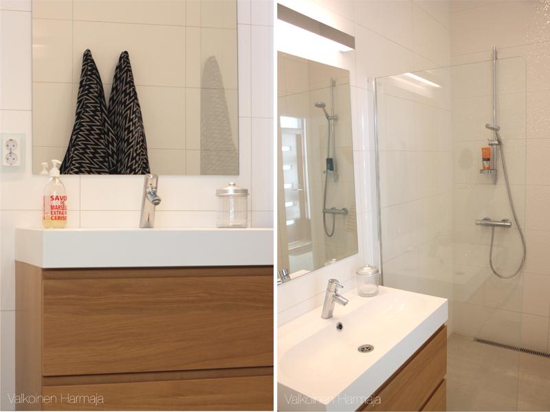Vanhempien kylpyhuone - Valkoinen Harmaja 1e235780df