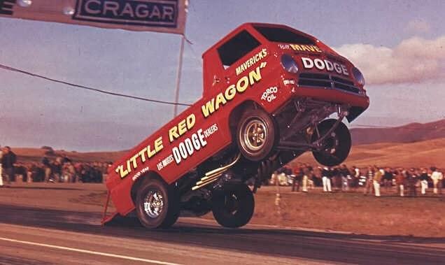 Bill Maverick'Golden's The Little Red Wagon Wheel Stander: Bill Maverick's A-100 1965 Dodge ...
