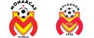 Monarcas comparte escudo con equipo belga
