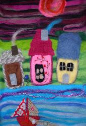 Felt Sea Houses