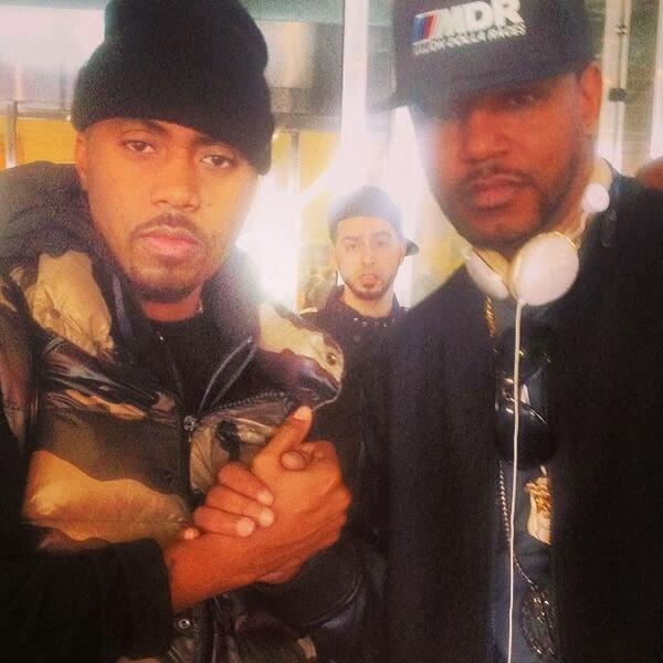 Nas & Cam'ron Faz as Pazes no Harlem