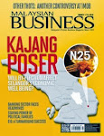 MALAYSIAN BUSINESS MARCH 1st ISSUE OF 2014 NOW ON SALE