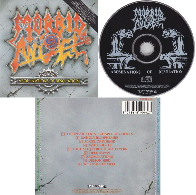 Metal's Collection: Morbid Angel: Abominations Of Desolation