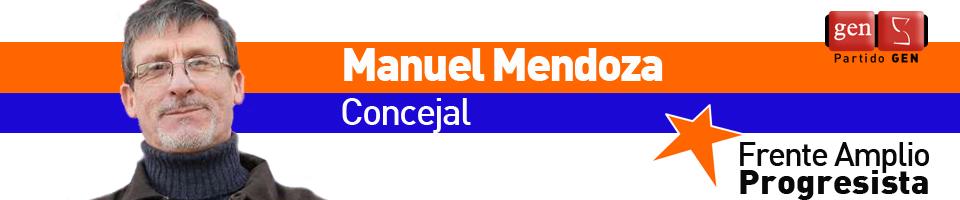 Concejal Manuel Mendoza