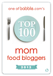 BABBLE TOP 100 MOM FOOD BLOGGER