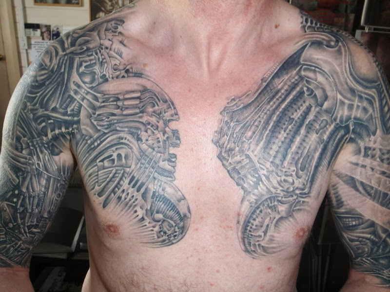 Chest Tattoo Designs for Guys title=