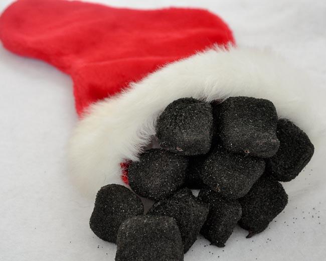 Lump Of Coal Chocolate Candy