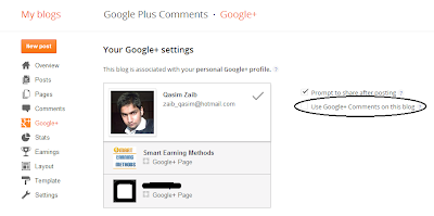 Enable Google Plus comments