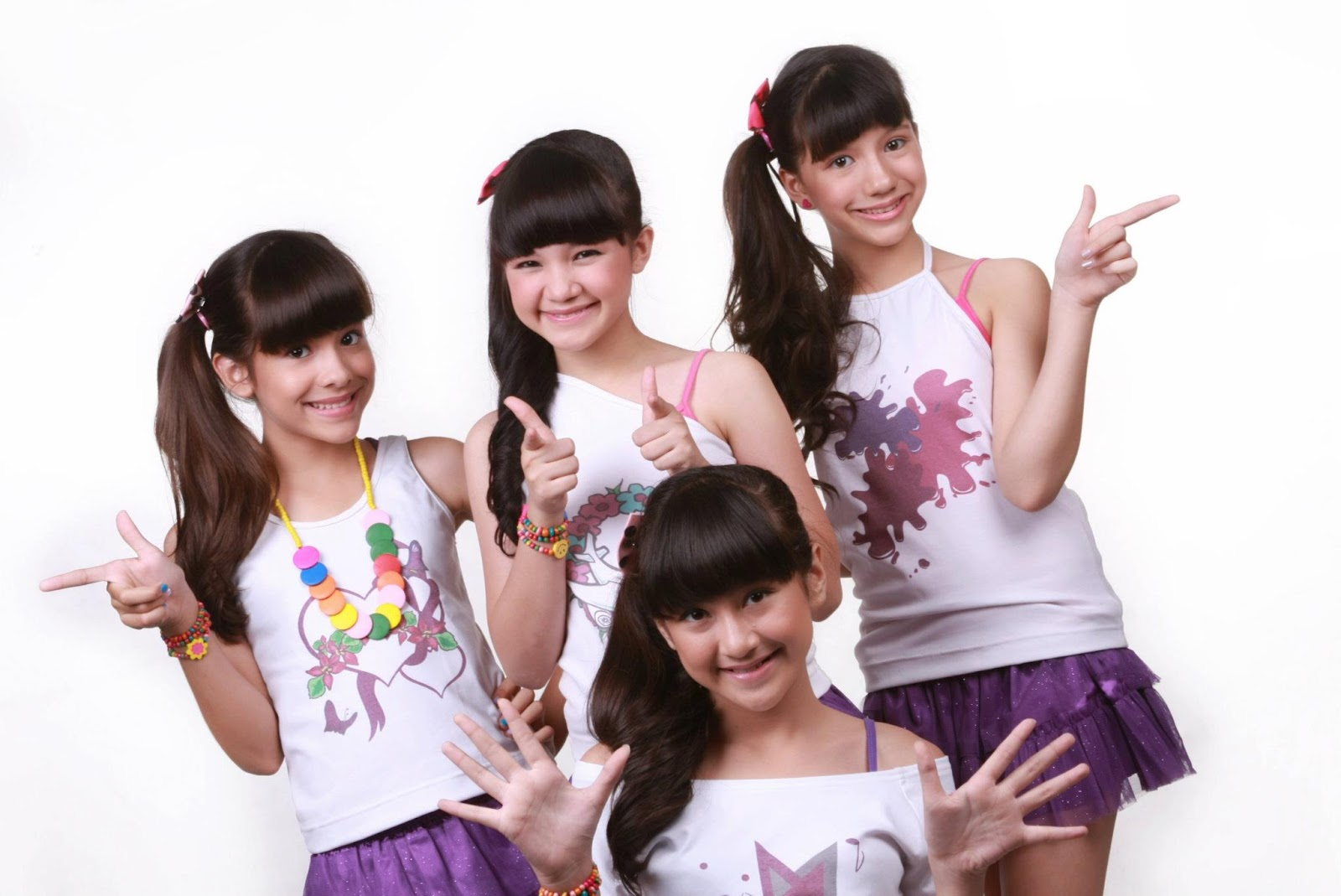 ... bella graceva amanda putri bella bassara sharon sahertian sharon
