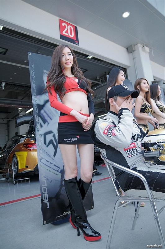 Lee Ji Min – CJ Super Race 2012 R1