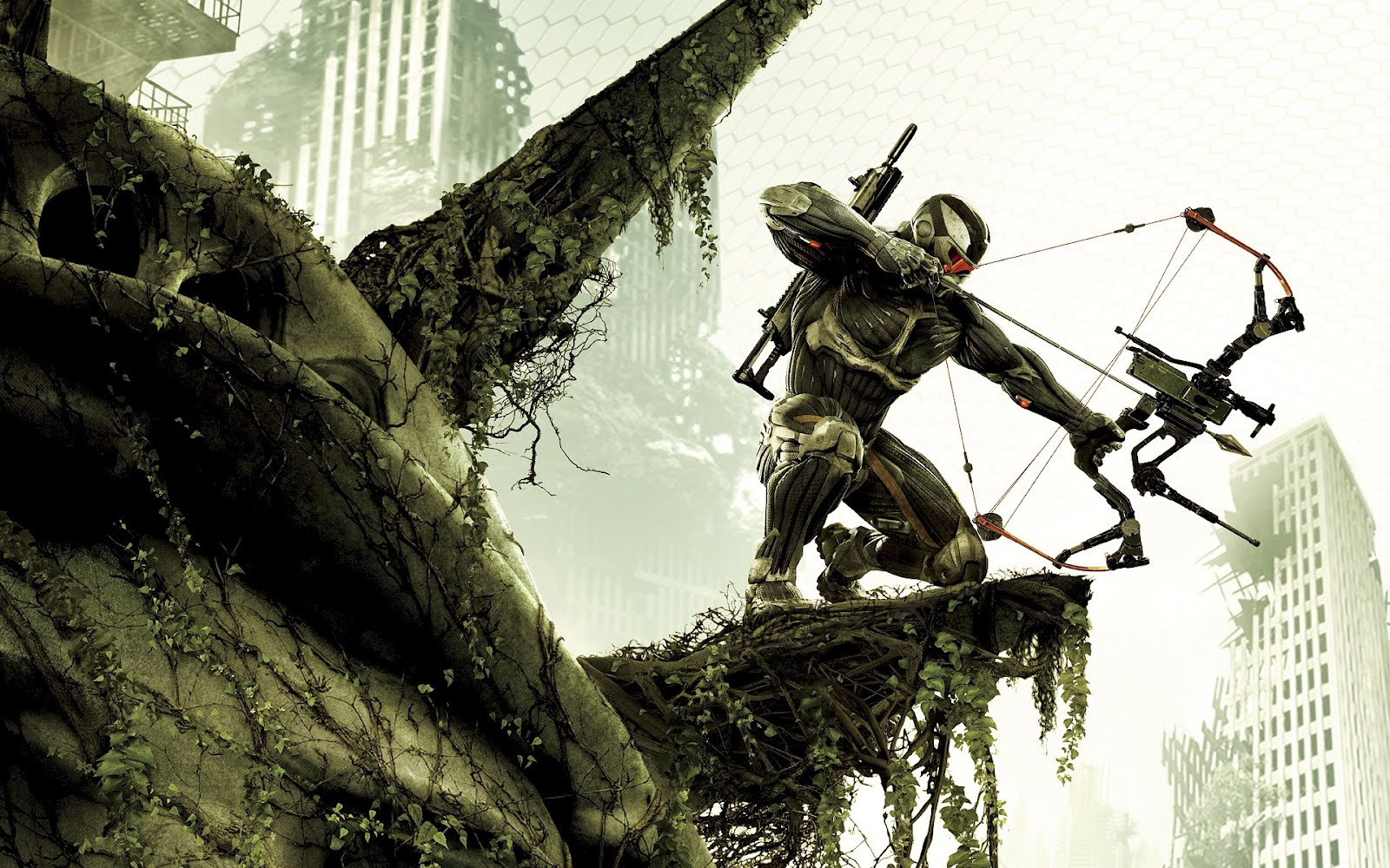 Crysis Bow Arrow, HD Wallpaper