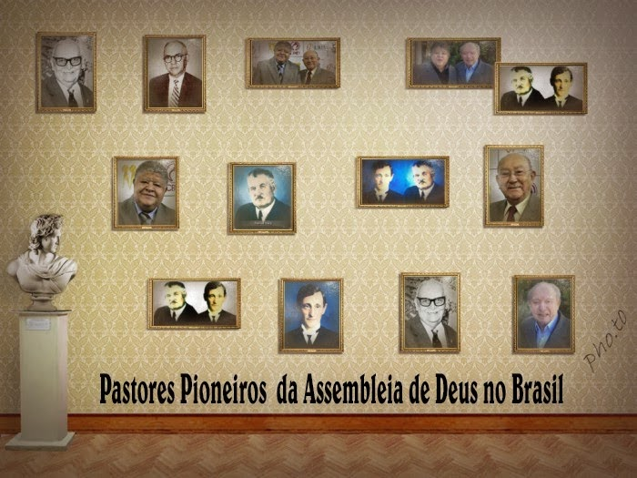 Pastores Pioneiros do Brasil 4