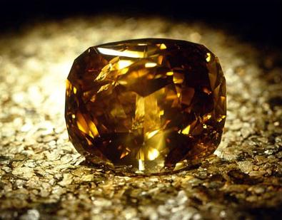 photo of yellow brown golden jubilee diamond