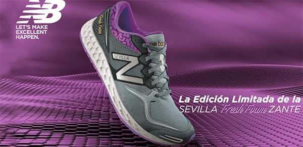 New Balance Sevilla Fresh Foam Zante zapatillas maratón