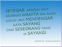 Kata-kata mutiara (Wanita)