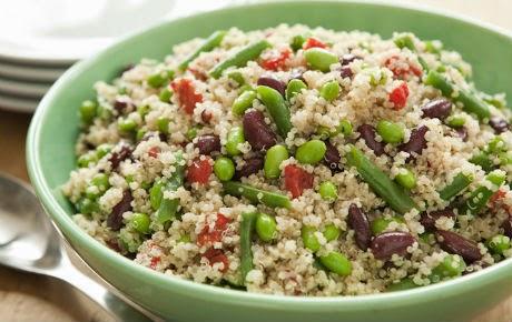 Bean Salad with Quinoa