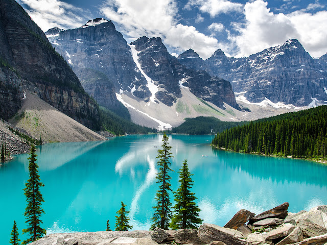 Bannf National Park Canada Moraine Lake HD Wallpaper