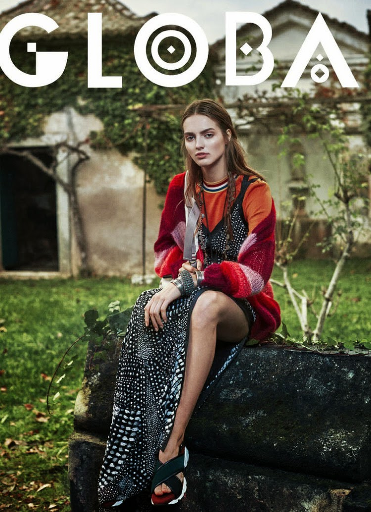 Fashion Model: Agne Konciute - Marie Claire USA