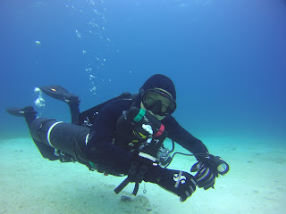 Even Rebreathers can be sidemount configured