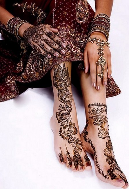 Fancy Henna Mehndi For Girls : Beauty and bridal tattoos for girls modern mehndi designs