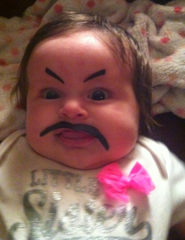 Most Hilarious Baby Eyebrows Gone Horribly Wrong So Funy