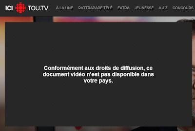 Conformément aux droits de diffusion, ce document vidéo n'est pas disponible dans votre pays