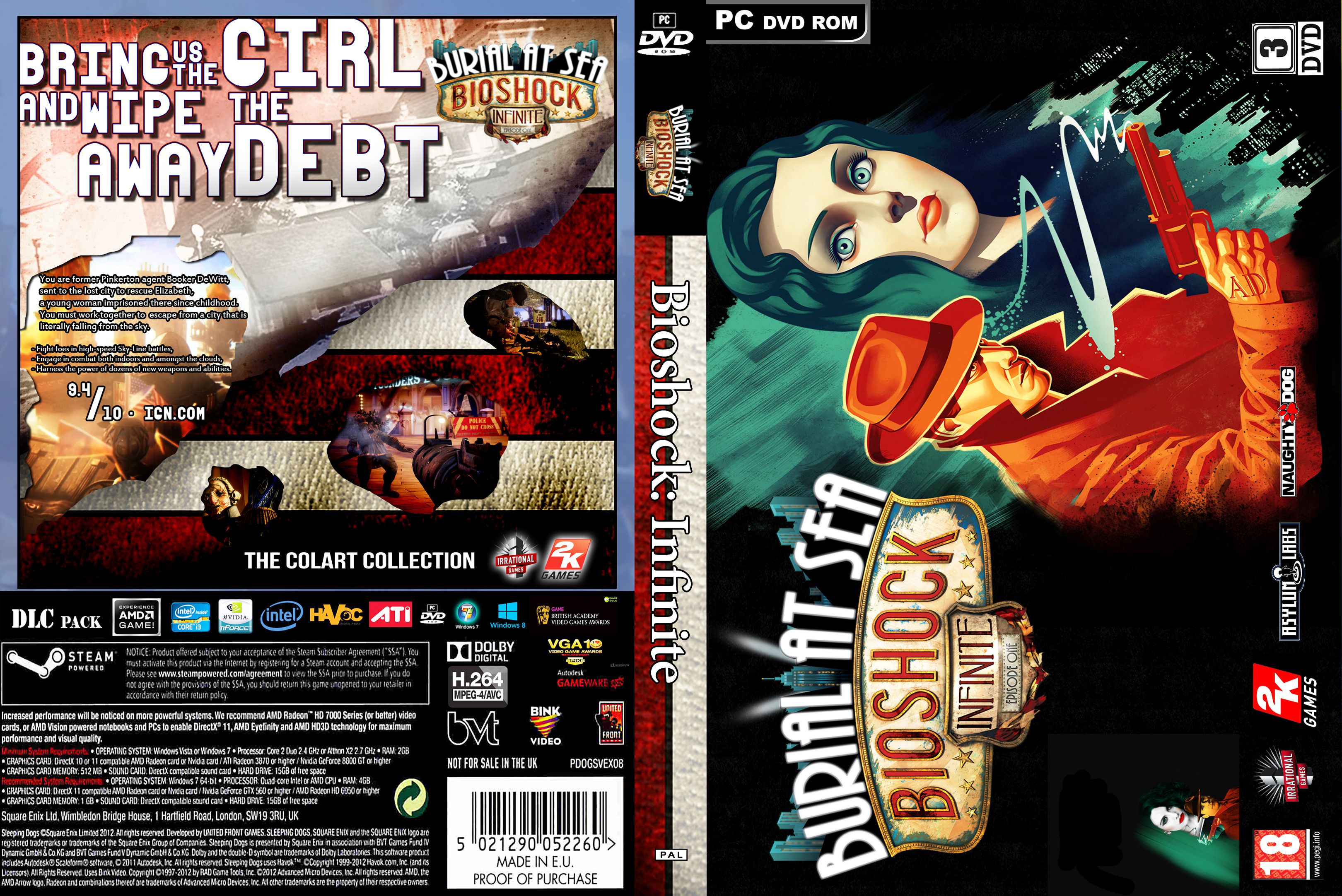 Capa Bioshock Infinite Burial At Sea Episode One PC