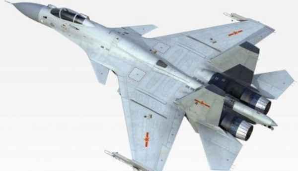Pesawat Tempur Kapal Induk Liaoning Shenyang J-15