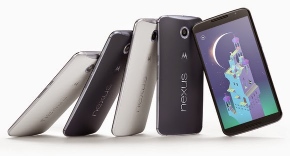 Android Lollipop official, Google Nexus 6 phone andGoogle Nexus 9 tablet