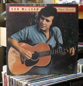curtis collects vinyl records don mclean not just. Black Bedroom Furniture Sets. Home Design Ideas