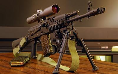 Ak 101 - Armas automáticas - Automatic Gun