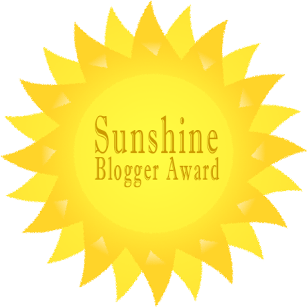 The Sunshine Blogger Award 2016