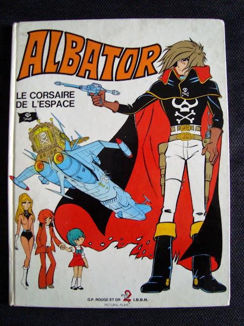 VIEILLE BD ALBATOR Albator-bd001