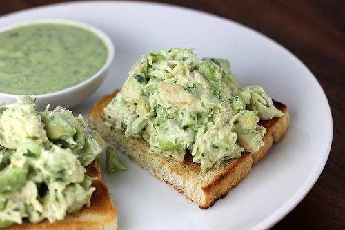 Now You Can Pin It!: Avocado Chicken Salad