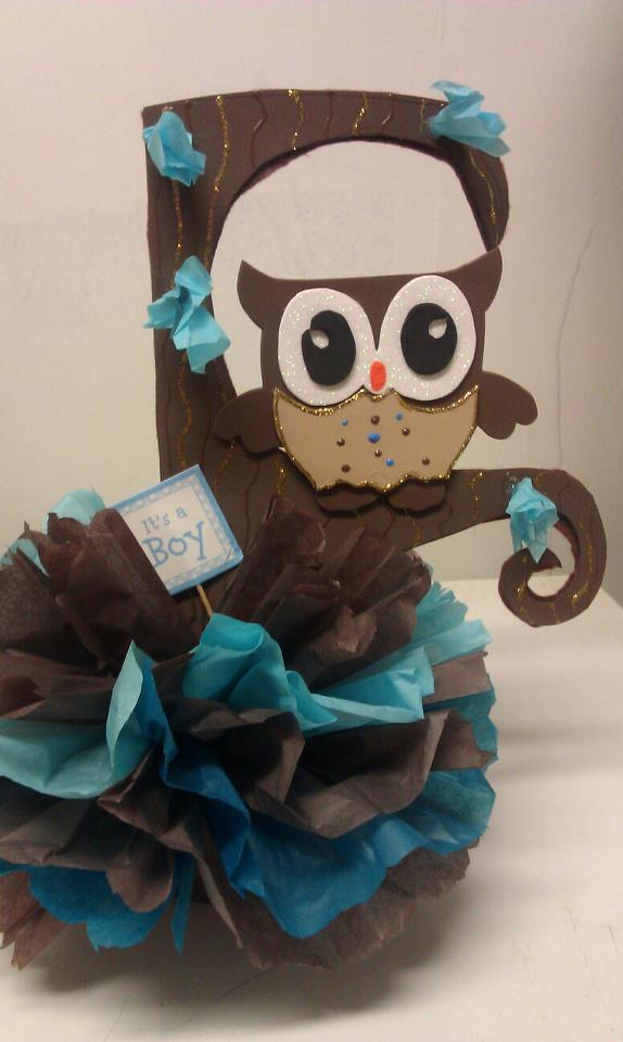 owl girl centerpiece with baby name lion king tier centerpieces